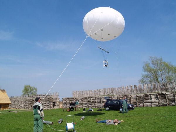 Balon helowy do fotografii
